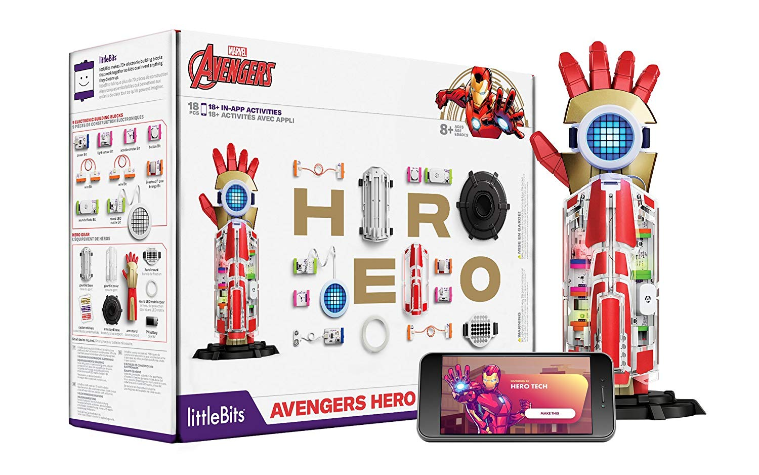 Cool gifts for tween boys (and girls): littleBits Marvel Avengers Hero Inventor Kit