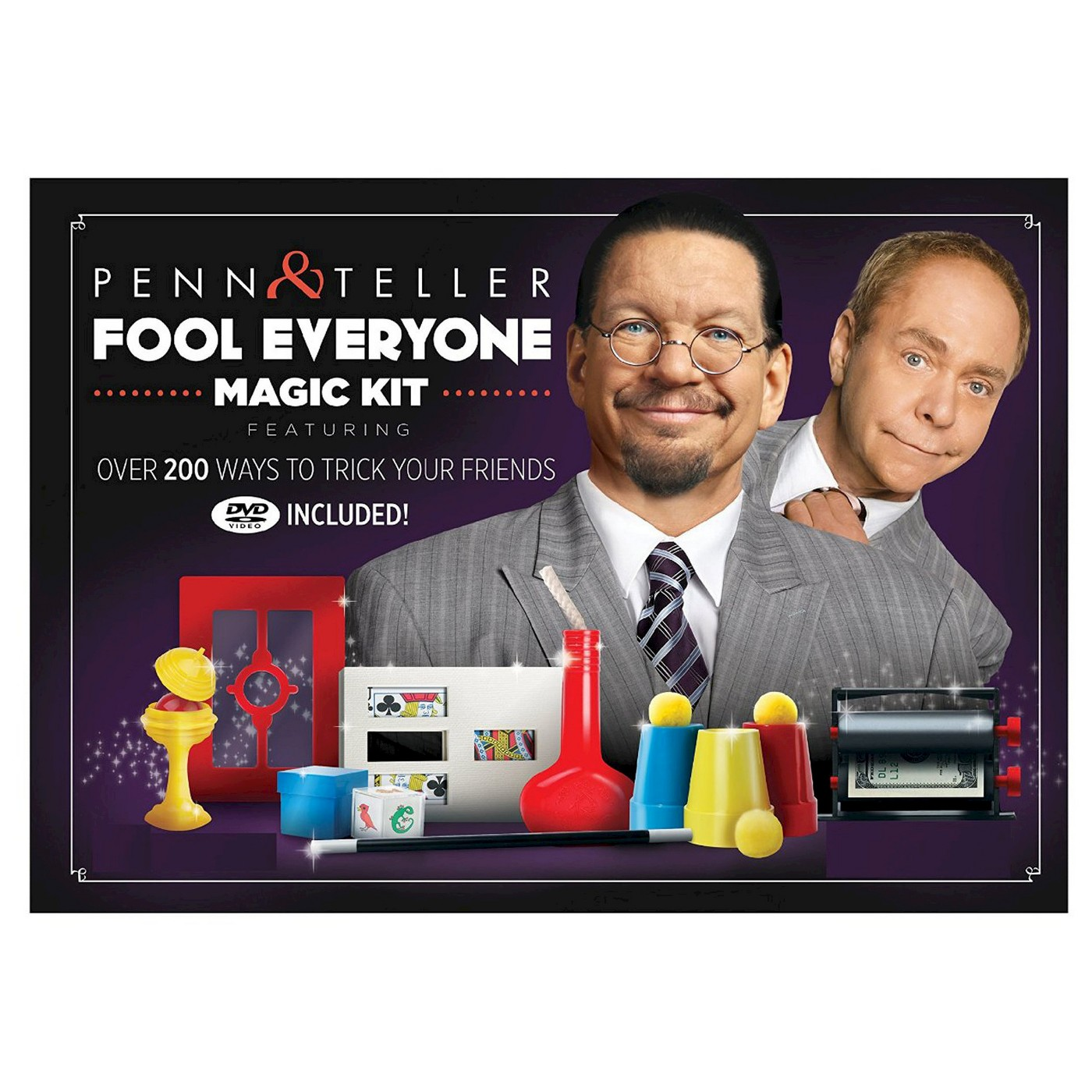 Cool gifts for tween boys (and girls): Penn and Teller Fool Everyone Magic Kit