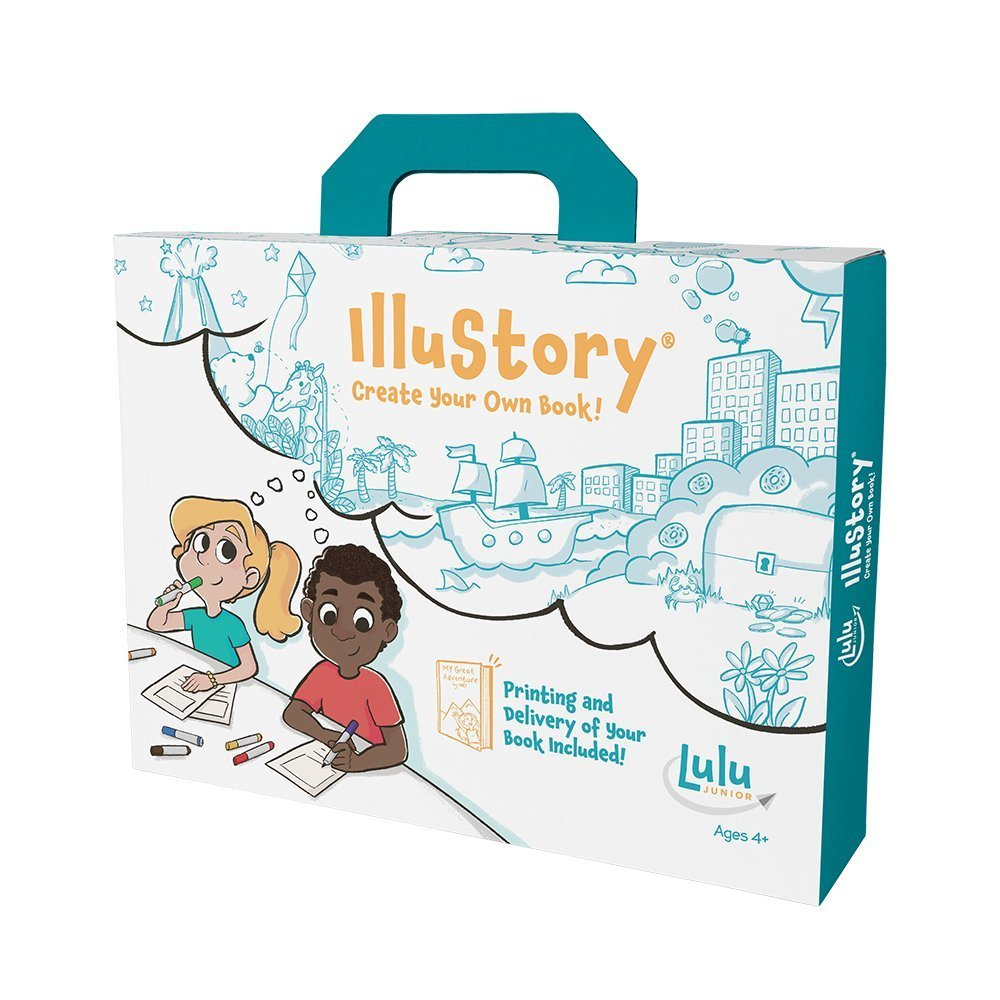 Cool gifts for tween boys (and girls): Illustory book-making kit for kids