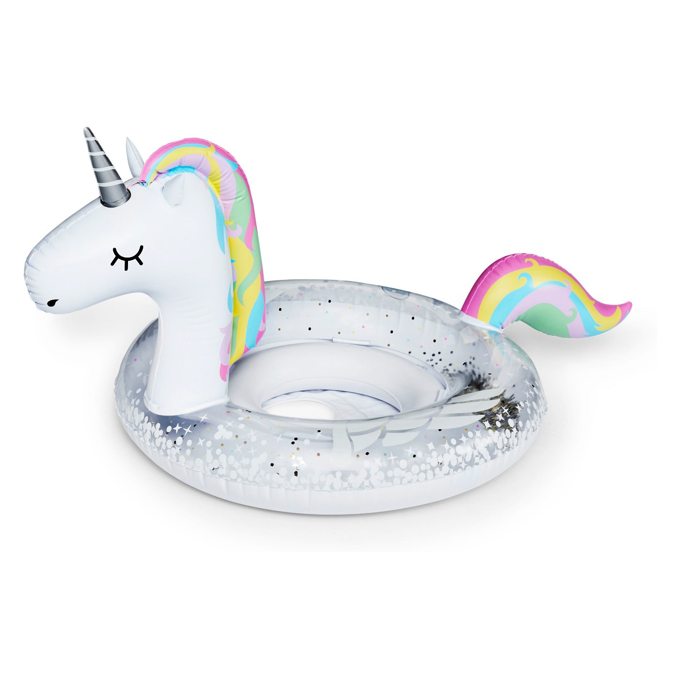 Kids gifts under $15: Inflatable unicorn pool float for young kids