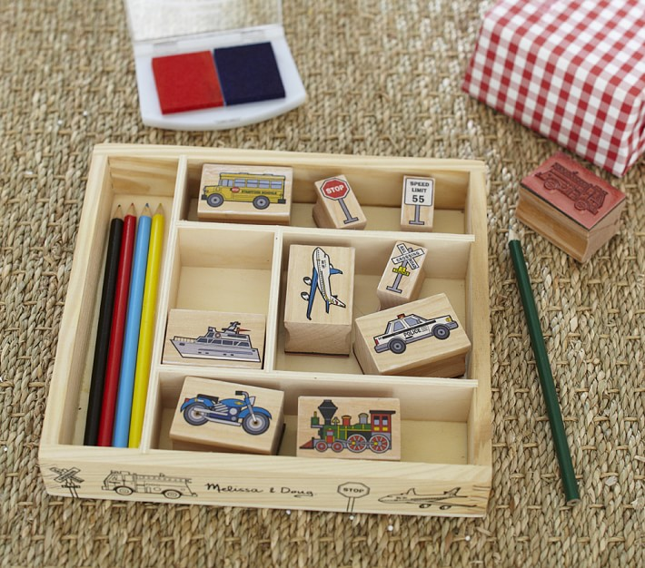 Cool gifts under $15 for kids: Vehicle stamp craft kit