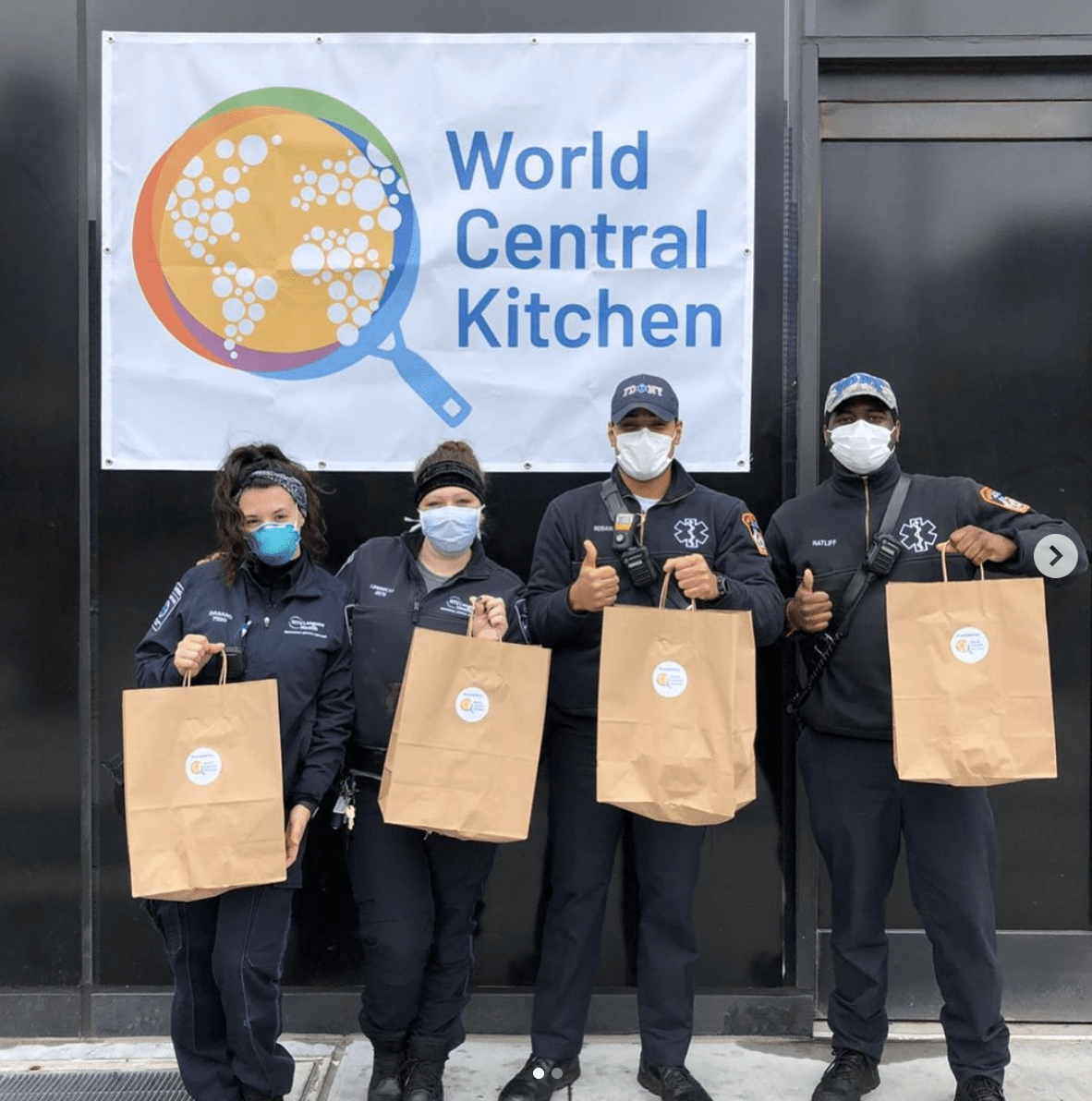 World Central Kitchen Chefs for America Covid Response