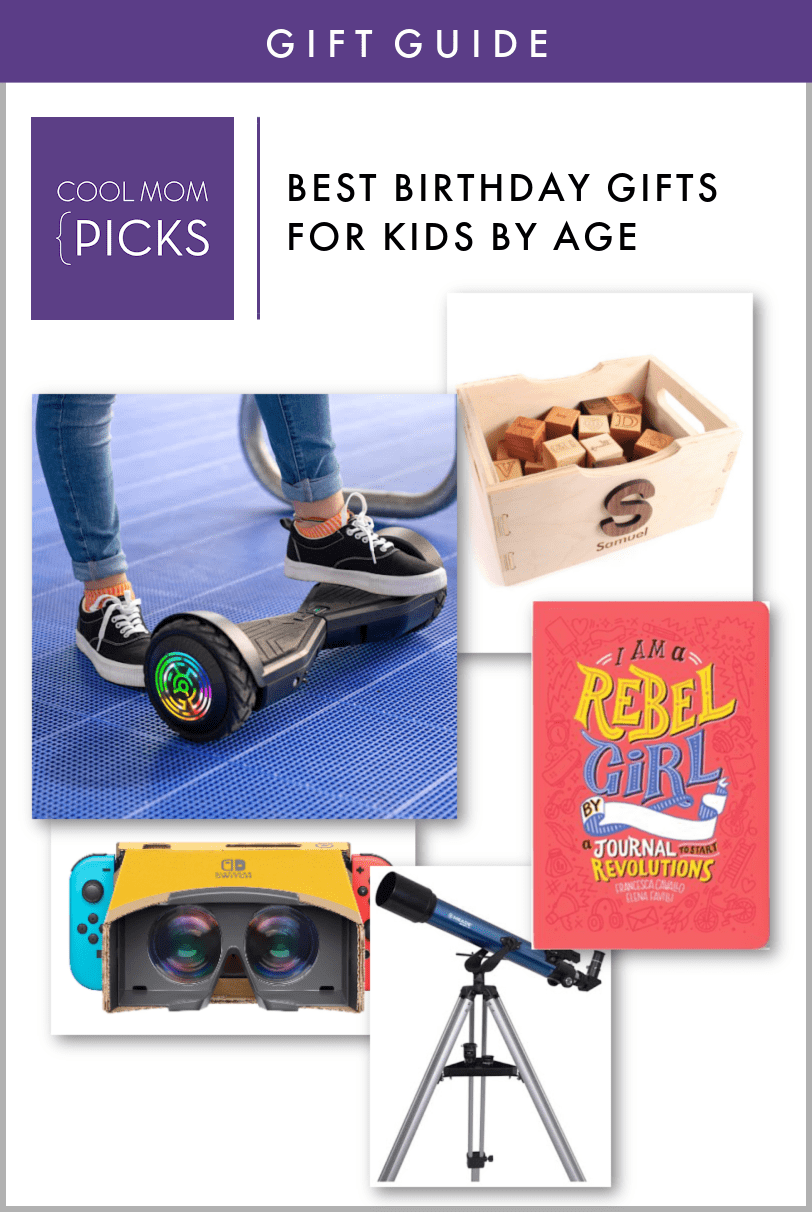 Best Birthday Gifts for Kids By Age
