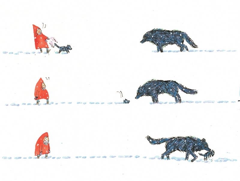Best children's books of 2018: Wolf in the Snow by Matthew Cordell