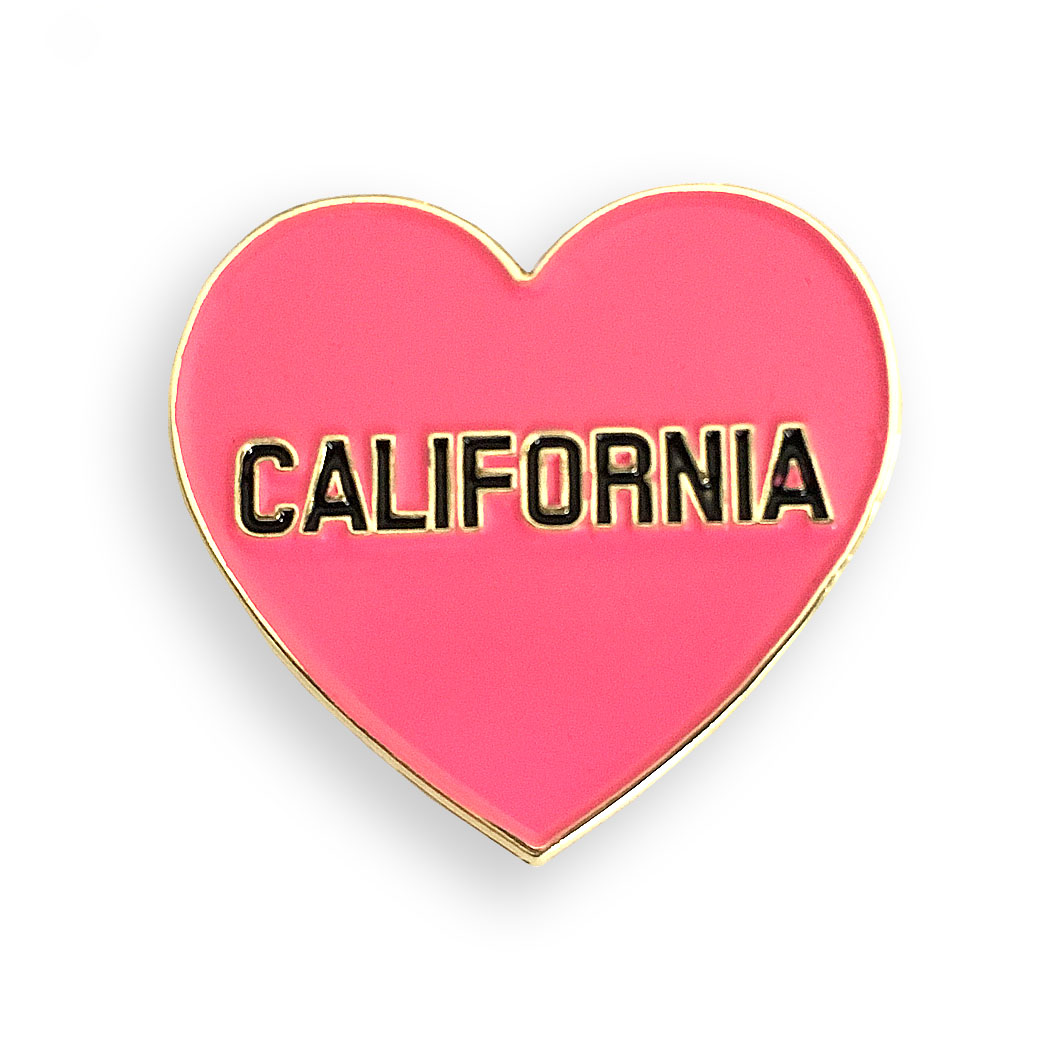 Gifts that give back to first responders of the California wildfires: California pin | The Gush Company
