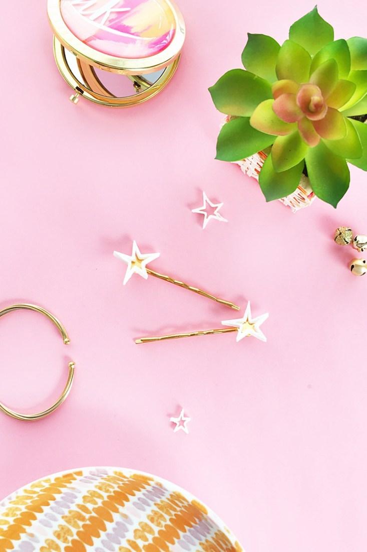 DIY Christmas gifts from the kids: Handmade hair pins at Maritza Lisa