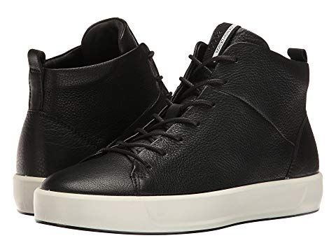 ECCO Soft 8 high-top sneaker: Cool sneaker in a style that feels more like a bootie
