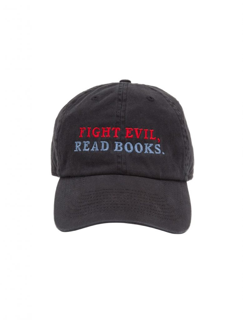 Meaningful gifts for kids: Fight Evil, Read Books cap by Out of Print clothing