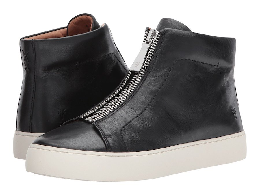 Frye Lena zip-top .high top sneakers