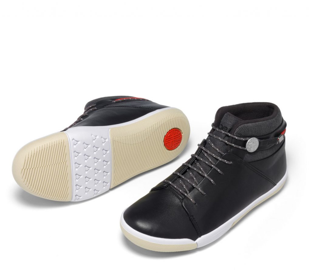 PLAE sneakers in the Abra high top adult style are like a sneaker for people who don't like sneakers