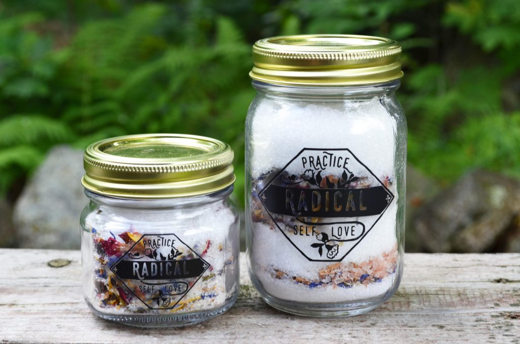 Gifts for feminists and activists: Radical self-love bath salts from Fabulously Feminist