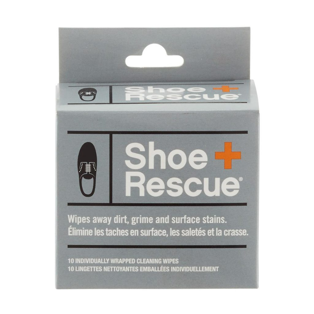 Practical stocking stuffer ideas that are still cool: Shoe Rescue wipes