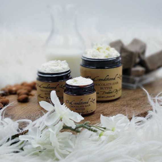 Gifts under $15: Whipped Cocoa Butter Hair Butter by Unconditional Love by C