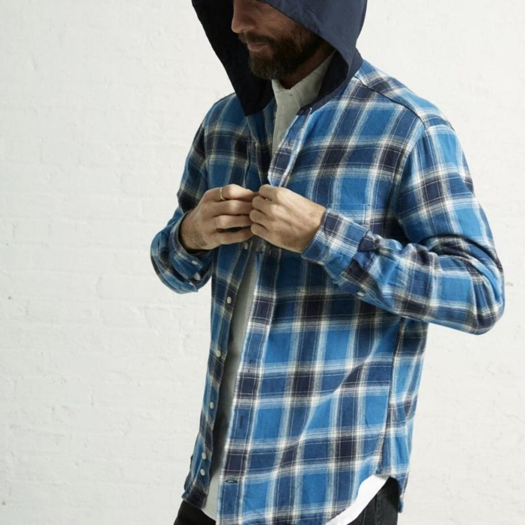 Gitman Vintage Flannel Men's Hoodie from Phoenix General on Garmentory