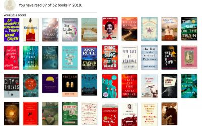 I read 39 books in 2018 in Goodreads' Annual Reading Challenge. Here are my 10 favorites.
