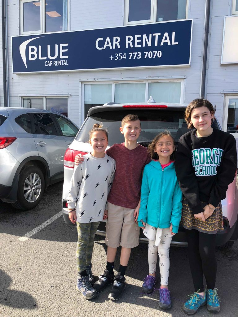 Traveling to Iceland with Kids: Blue Car Rental review