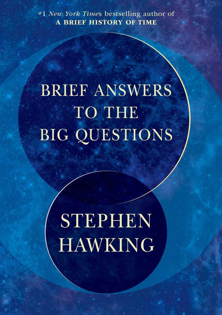 Anti Valentine's Day gift ideas: a totally non-romantic book, like Stephen Hawking's Brief Answers to the Big Questions