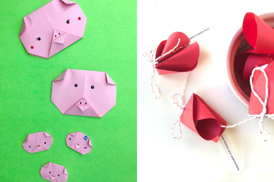 7 Wonderful Year Of The Pig Chinese New Year Crafts For Kids