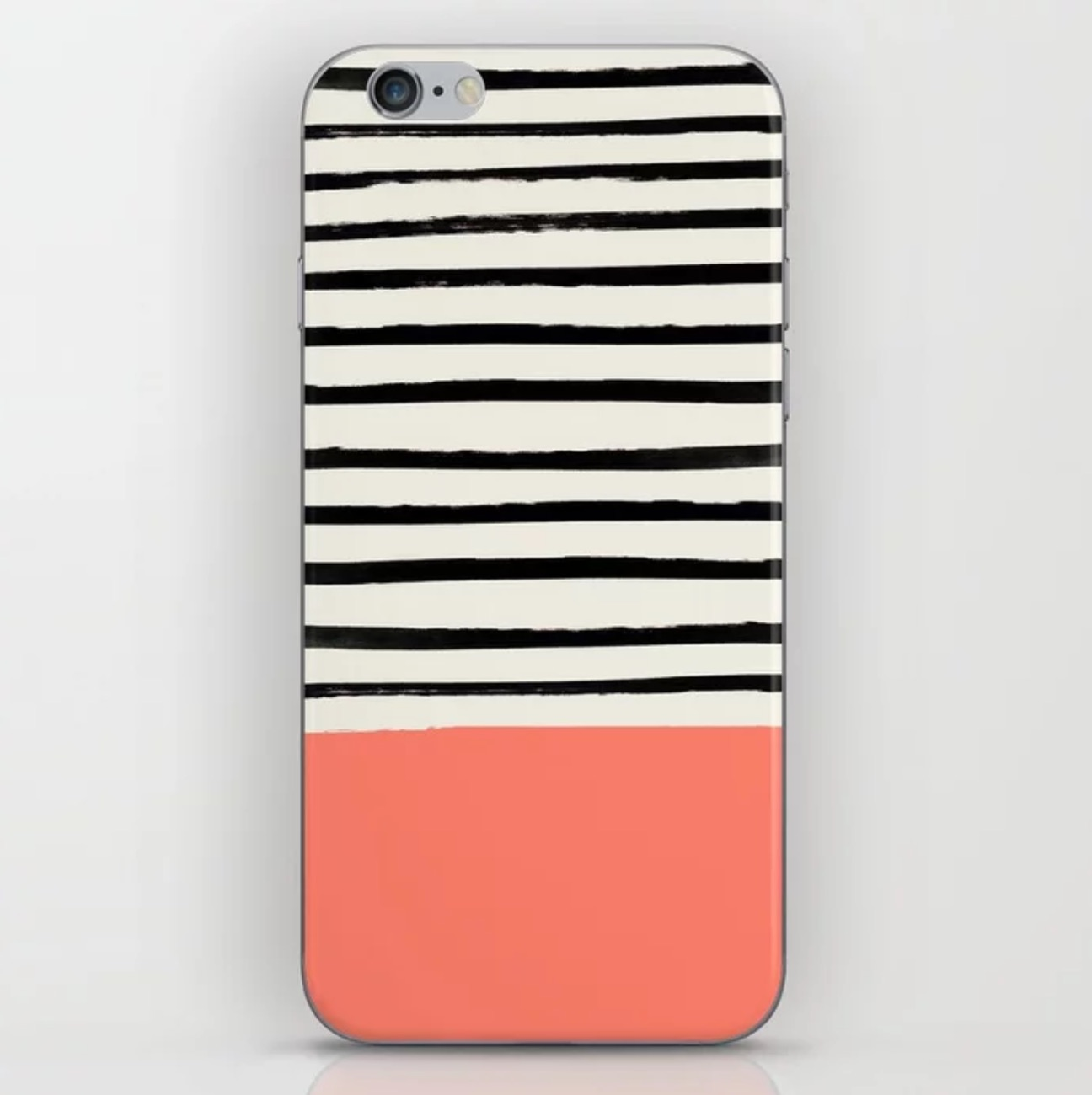 Lovely Living Coral accessories to celebrate the 2019 Pantone color of the year: Society6 coral phone case