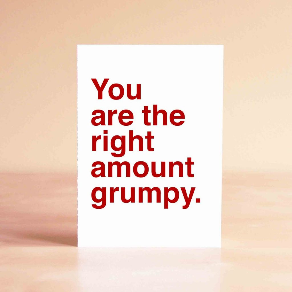 Cynical Valentine's Day cards from Sad Shop for people who hate Valentine's Day