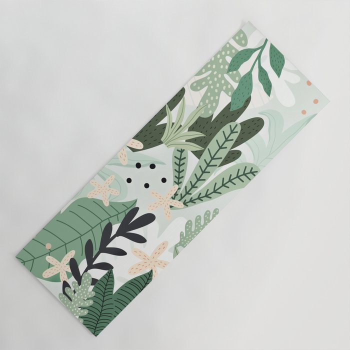 Fresh yoga mats: Into the Jungle by Gale Switzer