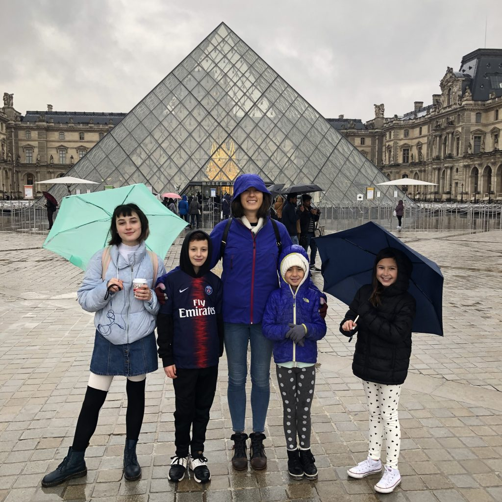 Paris with kids: Do a scavenger hunt at the Louvre
