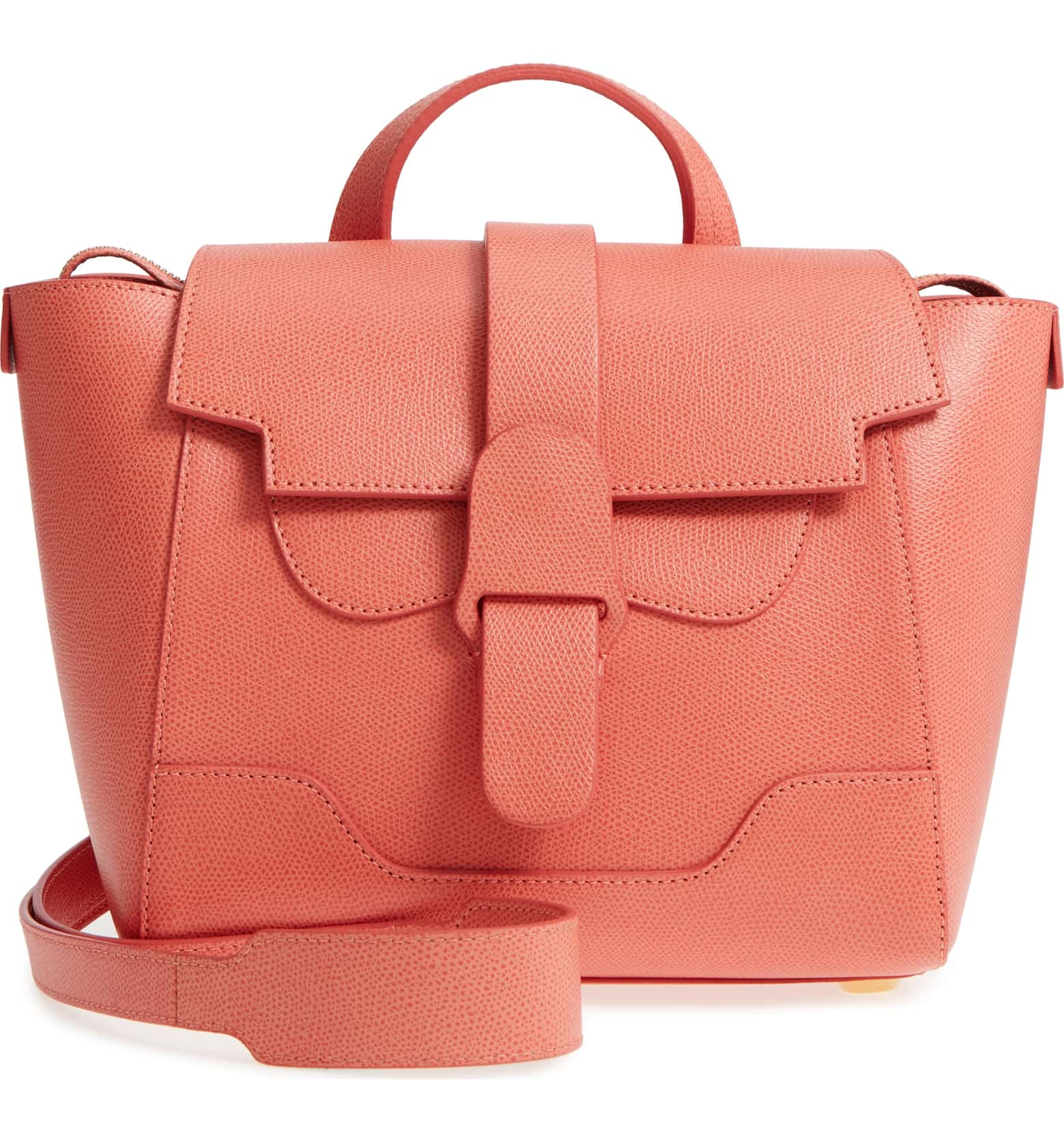 Lovely Living Coral accessories to celebrate the 2019 Pantone color of the year: Mini maestra coral satchel at Nordstrom