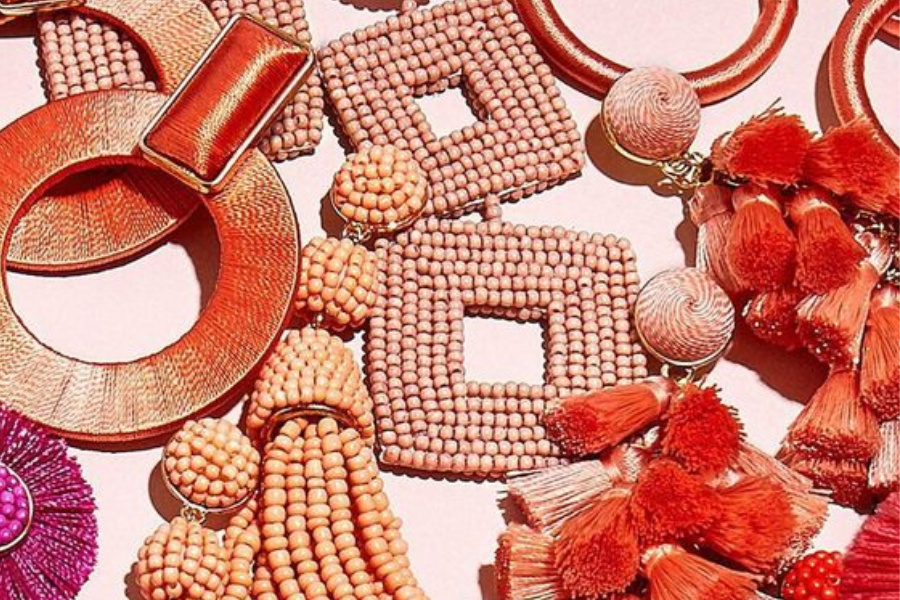 Cute coral earrings: An easy, affordable way to wear Pantone's color of the year