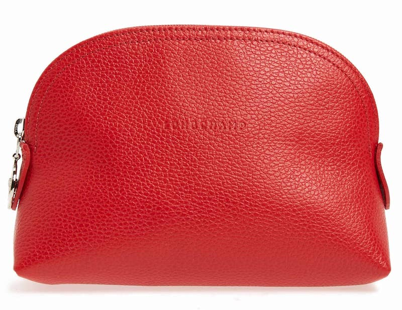 Practical Valentine's gifts for her: Longchamp makeup bag