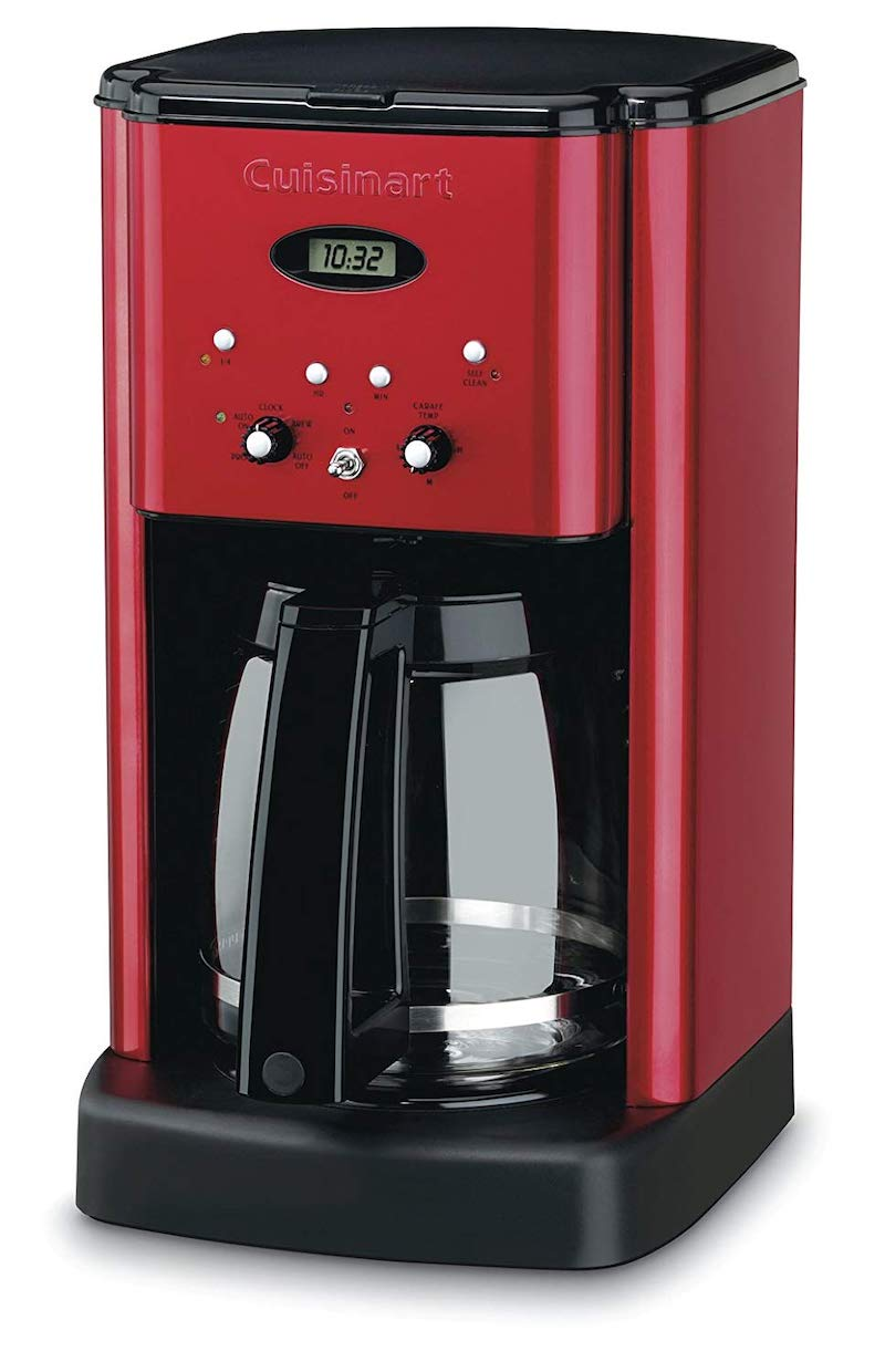 Practical Valentine's gifts for her: Programmable Cuisinart coffee maker