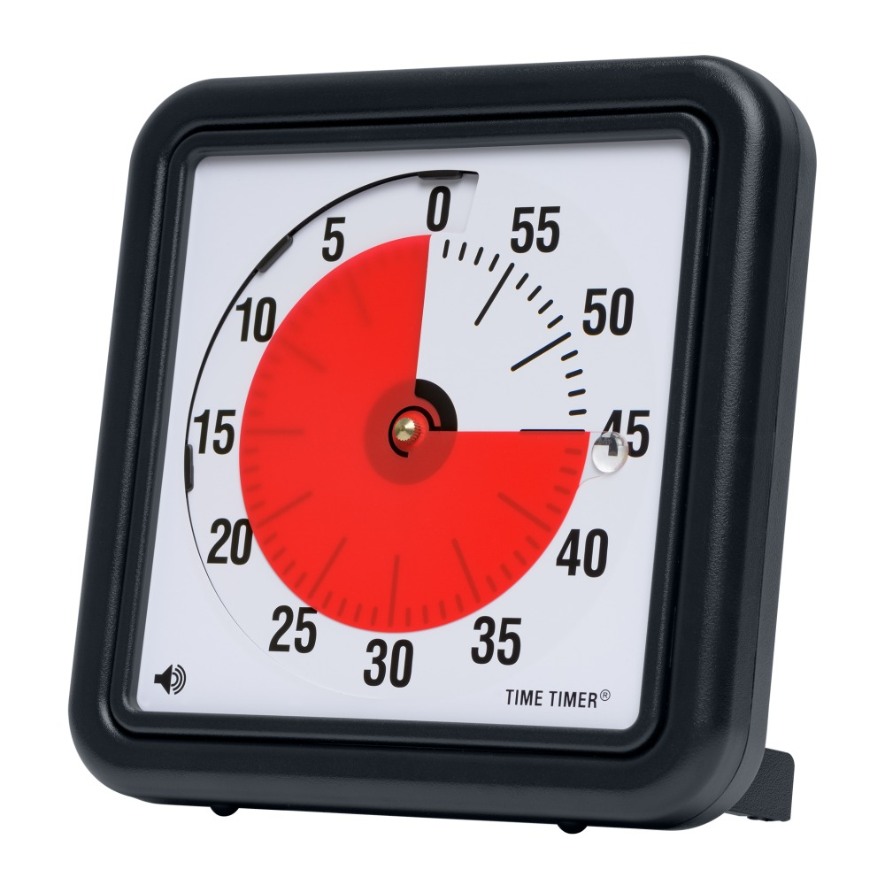 The Time Timer is a great visual cue for kids and adults