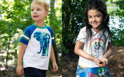 The new clothing line that lets kids protect endangered species in style.