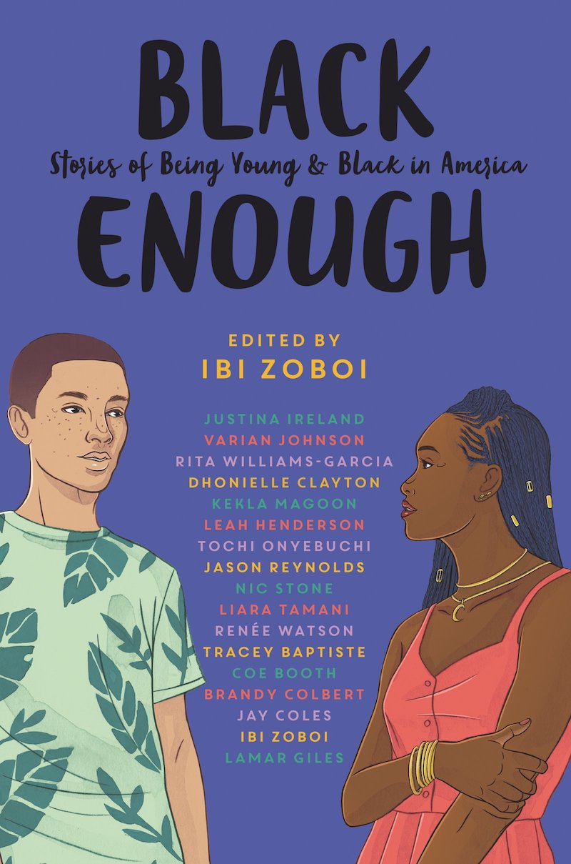 Black History Month books for kids: Black Enough edited by Ibi Zoboi