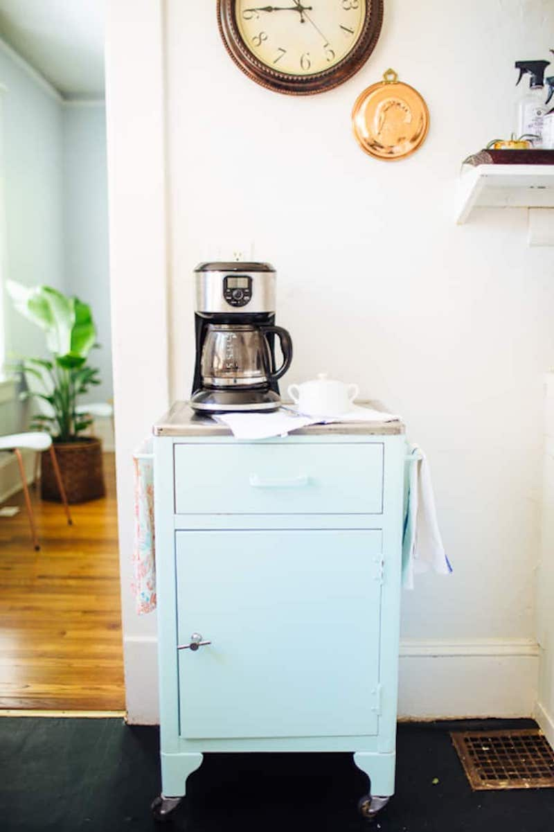 5 Ideas For Cool Coffee Bar Carts For Your Home Whatever Your Style