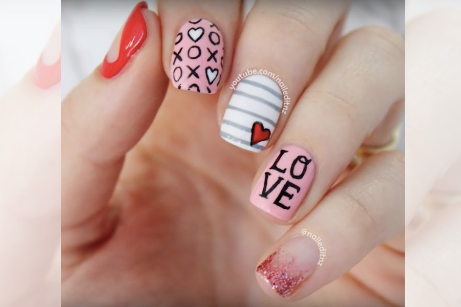 Valentine's Day nails: 7 fun, fairly easy ideas to get your fingers feeling the love