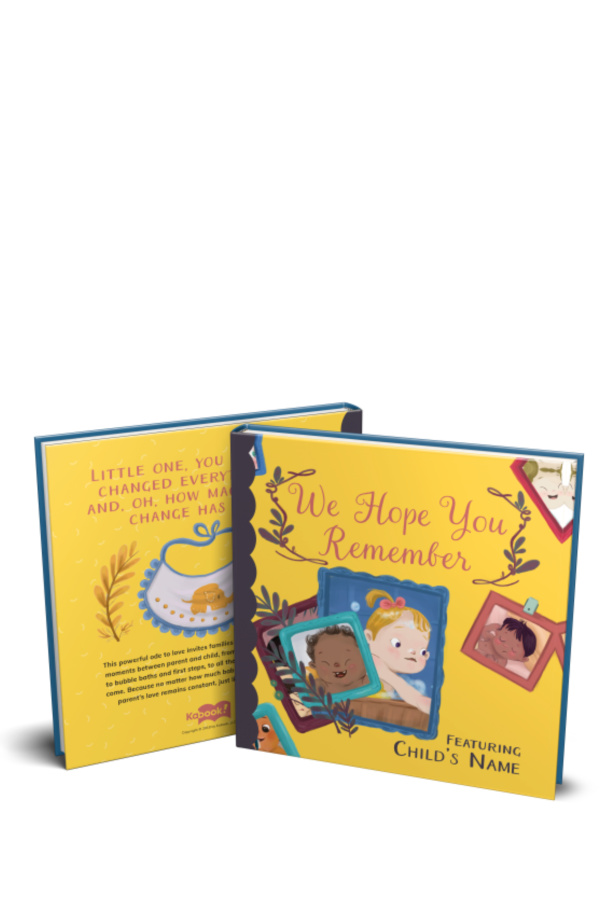Kabook personalized books make great baby gifts, and now come in gender-neutral options as well as boy/girl