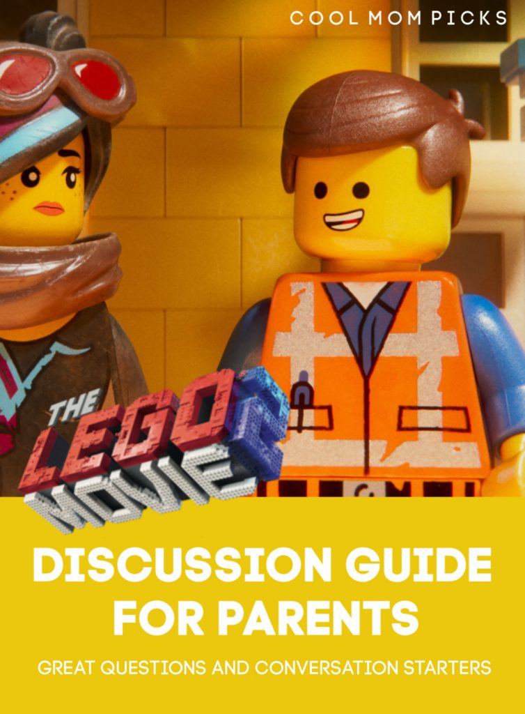 LEGO Movie 2: 5 questions to inspire great conversations with your kids | CoolMomPicks.com