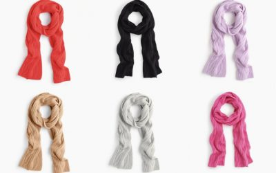 I found the absolute perfect cashmere scarf and it's now on sale too