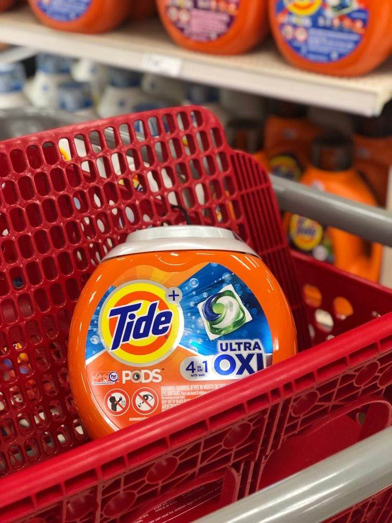 How To Get Big Coupons On The Tide Laundry Detergents You May Be Buying Anyway