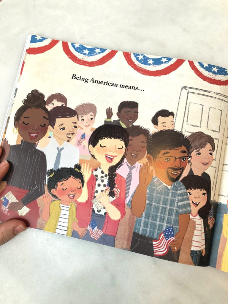 What Does it Mean to Be American review: New picture book by Rana DiOrio and Elad Yoran
