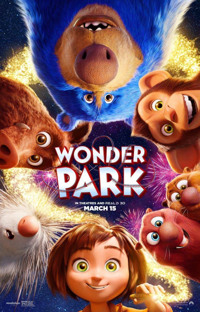 Wonder Park: The new animated film starring Jennifer Garner, Matthew Broderick, Mila Kunis, Kenan Thompson, Ken Jeong, John Oliver and more: Coming to theaters March 15 | sponsor