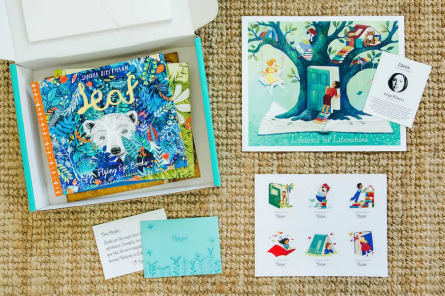 8 of the best book subscription boxes for kids of all ages, in honor of National Reading Month
