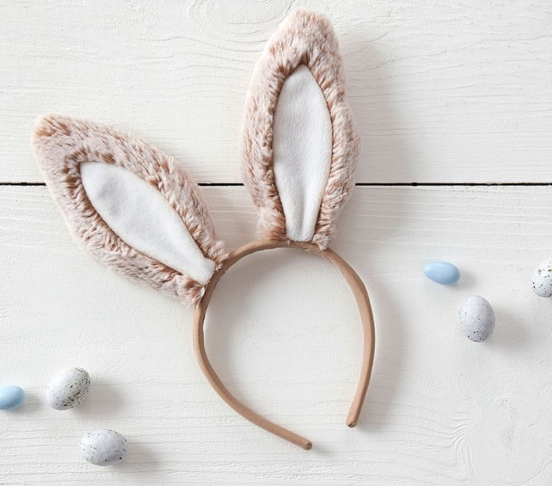 Easter basket ideas under $20: Bunny ears at Pottery Barn Kids