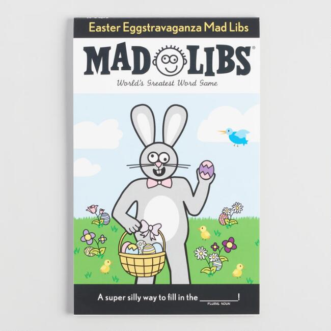 Easter Mad Libs: Cool Easter basket gifts for kids under $20