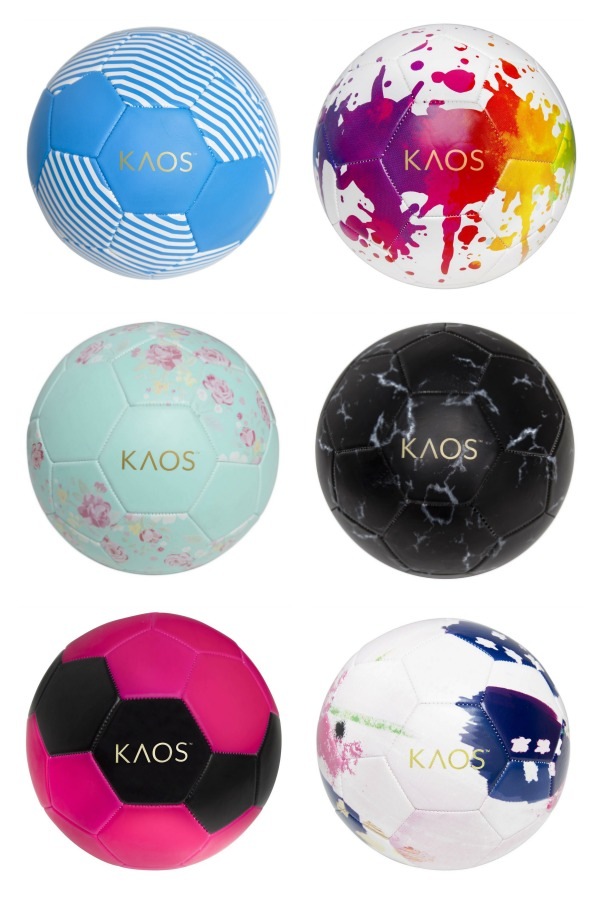 Cool Gift For Sporty Girls Kaos Soccer Balls Let Show Their Style And