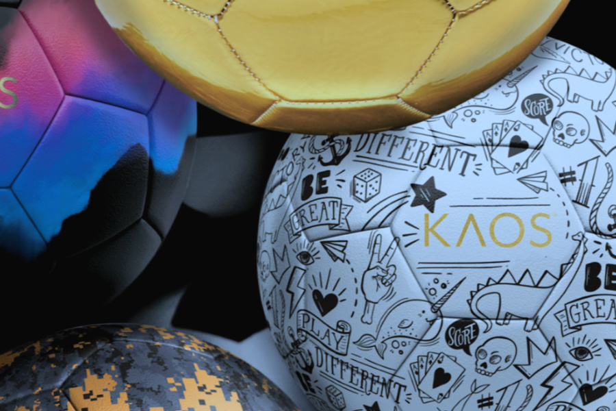 The soccer balls that let kids show off their skills and their style