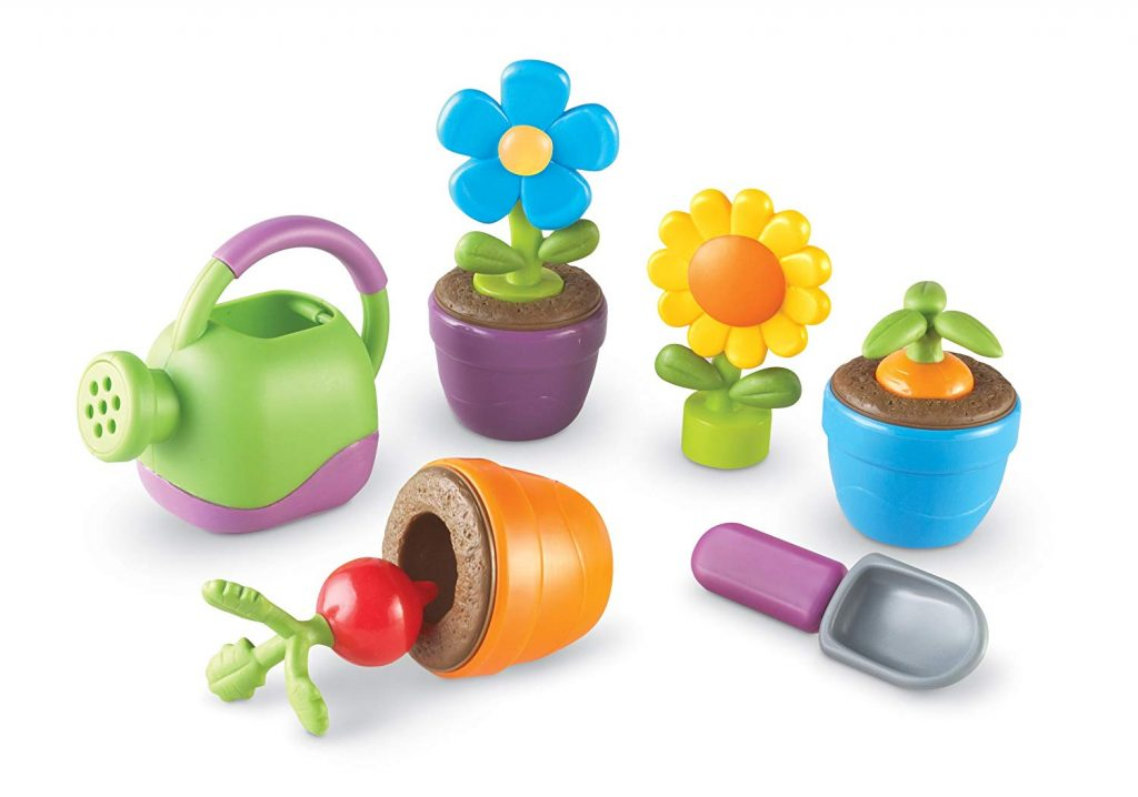 Learning Resources play garden makes a fabulous Easter basket gift under $20 for toddlers and preschoolers