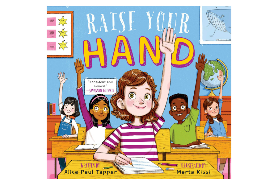 Raise Your Hand, the empowering new children's book written by an 11-year-old girl