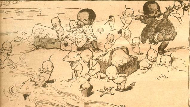 Rose O'Neill: The creator of Kewpies used her characters to promote racial equality, votes for women, and other social issues #womenshistorymonth