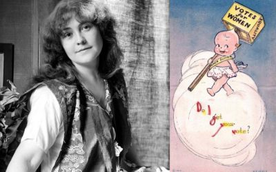 Rose O'Neill, Kewpie dolls, and women's suffrage | Women's History Month stories to share with your kids